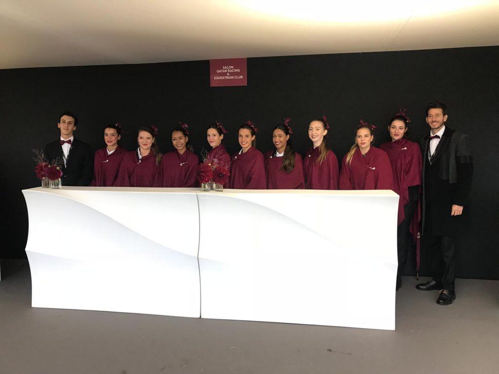 recrutement hôtesses d'accueil paris