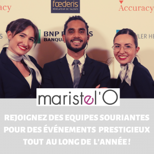 Recrutement hôte et hôtesse d'accueil à Paris
